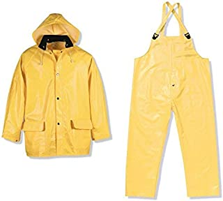 Viking Men's Handyman PVC 3pc Suit Yellow, Yellow, S