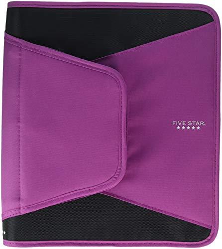 "Five Star Zipper Binder 500 Sheets 1.5"" (Various Colors) (Purple)"