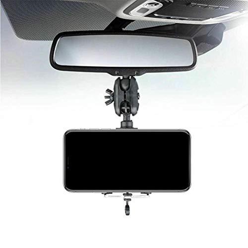 CeFoney Soporte de teléfono para espejo retrovisor de coche, 360 grados