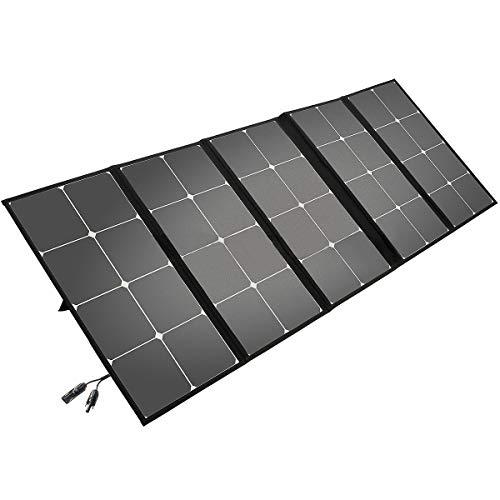 Litionite Arun 130W : chargeur solaire pliable avec support