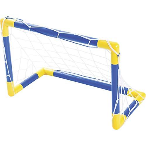 Jogo Beach Soccer 2 Traves, Redes, Bola, Bomba (P55) Bel Fix Azul/Amarelo