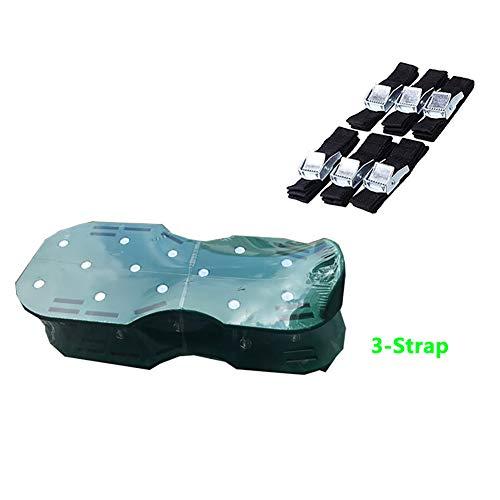 SJZV Pre-ensamblado Zapatos de uñas de Hierba Jardineria Zapatos de Tierra Suelta Herramienta,Green