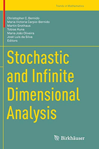 Stochastic and Infinite Dimensional Analysis (Trends in Mathematics)の詳細を見る
