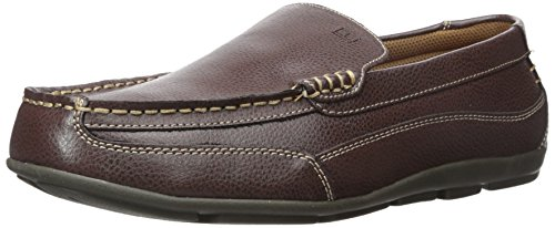 Tommy Hilfiger Men's Dathan Driving Style Loafer, Brown, 10