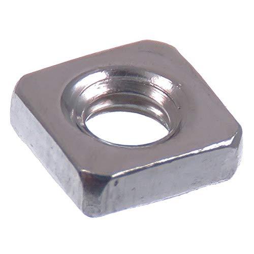 acero inoxidable V2A VA A2 DIN 985 // ISO 10511 Tuerca de seguridad SECCARO M4 20 piezas hex/ágono
