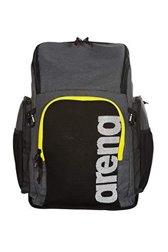 ARENA Tasche Team Backpack 45, Unisex Erwachsene Einheitsgröße Grau meliert