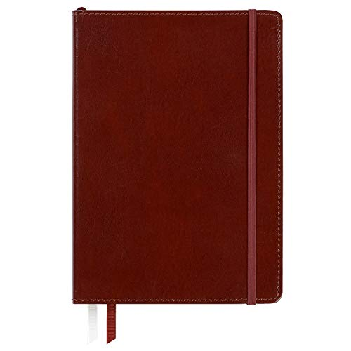 C.R. Gibson Brown Professional Leather Journal Notebook, 6'' W x 8.5'' L, 240 Pages