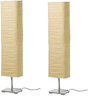 2 x Echte IKEA HOLMO Stehleuchte weiche glatte mit ständigen