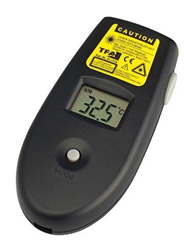 TFA Dostmann Flash III Infrarot Thermometer, berührungsloses Messen, Oberflächentemperatur, vielseitig nutzbar (Haushalt/Handwerk/Hobby)