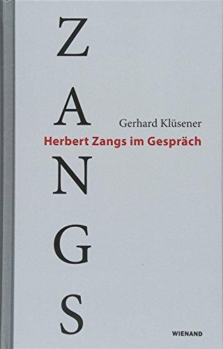 Zangs: Herbert Zangs im Gespräch