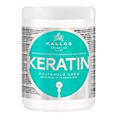 Kallos Keratin Hair Mask with Keratin and Milk Protein for Dry, Damaged