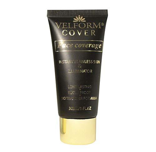 Velform® - Cuidado facial antiarrugas para base de maquillaje, 30 ml, resistente al agua