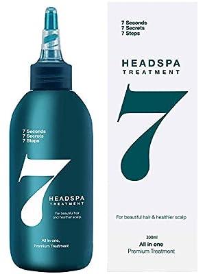 Head Spa 7- Anti Hair Loss Treatment, 10.13 Fl Oz(300ml)/Hair Growth Conditioner Treatment for Hair thickening - Natural hair regrowth and Volumizing, hair mask, Deep Scalp Treatment for Damaged hair