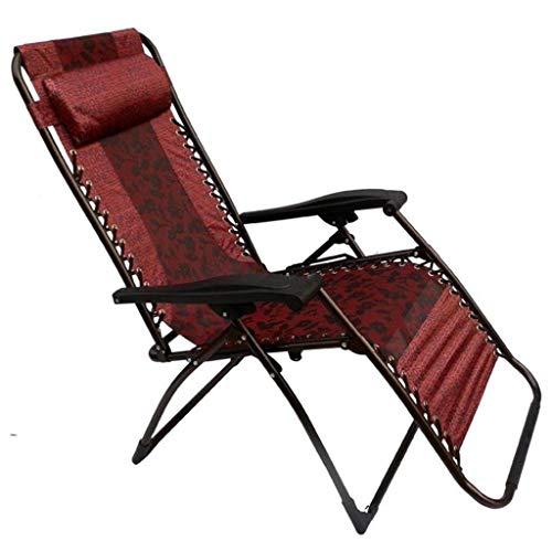 MISTXIN Multifunctional Portable Folding Sun Lounger, Folding Chair Beach Chair Leisure Chair Household Siesta Chair, Office Lunch Break Family Leisure