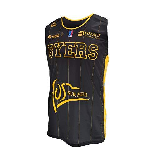 FOS Provence Basket Fos Provence - Camiseta de Baloncesto Oficial para el...