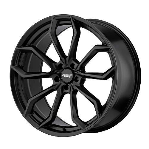 Buy AMERICAN RACING SPLITTER SATIN BLACK SPLITTER 22x10.5 5x115.00 SATIN BLACK (25 mm) CUSTOM WHEEL
