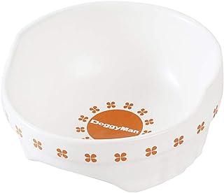 ドギーマン 便利なクローバー陶製食器 犬用 M サイズ