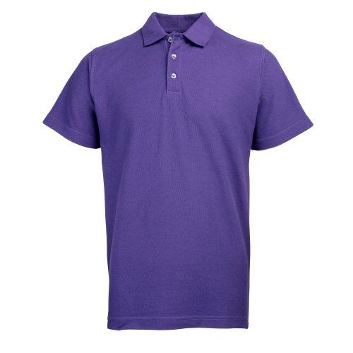 RTY Workwear Herren Polo-Shirt S bis 10XL (8XL) (Violett)
