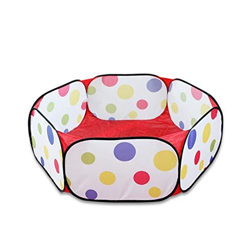Color Yun Corralito Plegable para bebé, Bolas hexagonales con Lunares, Piscina, Piscina, Interior, Exterior, niños, Juego de Juguete para bebés, casa de Juego, Regalo para niños, Tienda de campaña