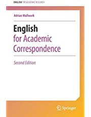 English for Academic Correspondence (English for Academic Research)