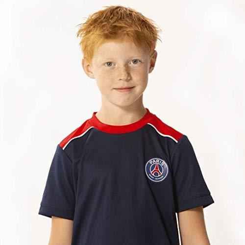 PARIS SAINT GERMAIN Trikot + Short PSG Offizielle Kollektion - Kindergröße 10 Jahre
