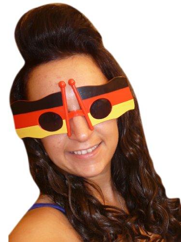 Seruna AC02, lunette de fan allemand pour adultes et enfants! Pour toute occasion… au sport, au carnaval , carnaval, aux anniversaires ou autres fêtes.