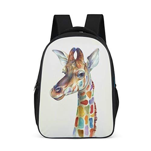 Animal Giraffe Fashion Children's Backpack School Book Bag Backpack for Children Adults Gift for Boys Girls