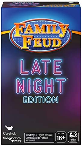 Spin Master Family Feud Late Night Edition Adult Party Quiz Game Multicolor product image