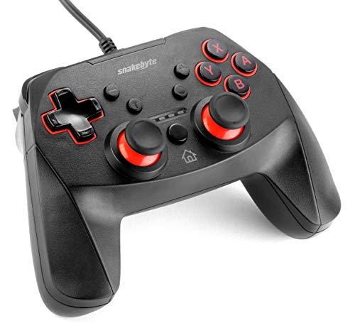 snakebyte Switch GAME:PAD S - Kabelgebundener Pro Controller - 3m Kabellänge - für Nintendo Switch