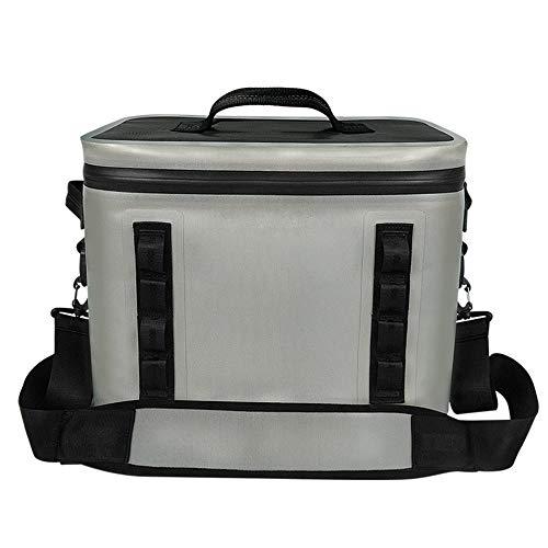 ZYT 20 L Portable Cooler Bag Sac à Déjeuner,Fermeture à glissière étanche et 100% étanche,Sac Isotherme pour Déjeuner Plage Pique-Nique Camping