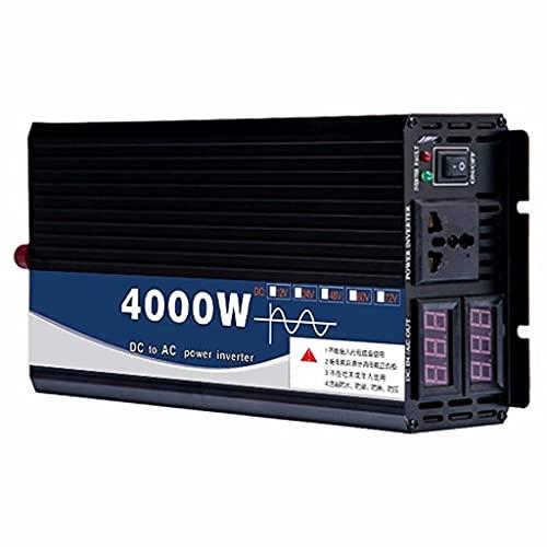 SJZD Pure sine wave inverter 4000WPower Inverter Voltage converter DC 24V / 48V to AC 220V converter, 24v to 220v,4000W