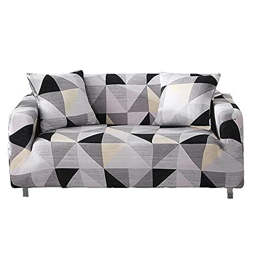 WXQY Funda de sofá elástica Funda de sofá de Sala de Estar Funda de sofá elástica seccional Funda de sillón en Forma de L Funda de sofá A4 3 plazas