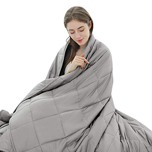 """Giantex Premium Weighted Blanket Smaller Pockets 20lbs 