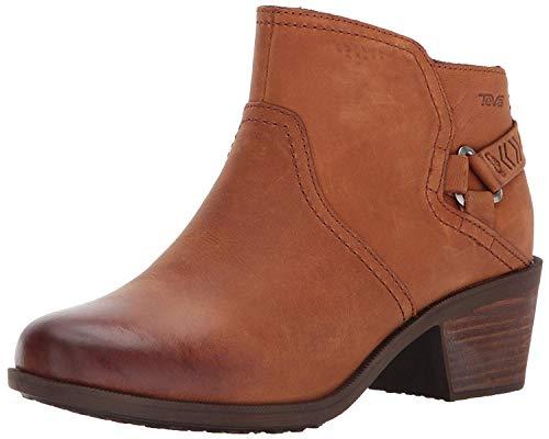 Teva Women's W Foxy Waterproof Boot, Caramel, 5 M US