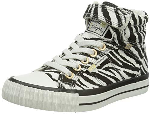 British Knights Damen DEE Sneaker, Zebra, 40 EU