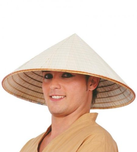 GUIRMA - Sombrero vietnamita paja