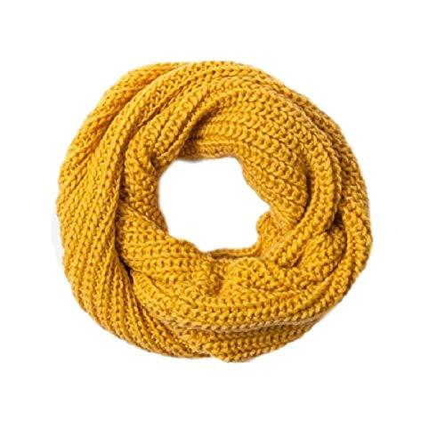 Ducomi Gilt Infinity sjaal met slang van zacht wolmengweefsel