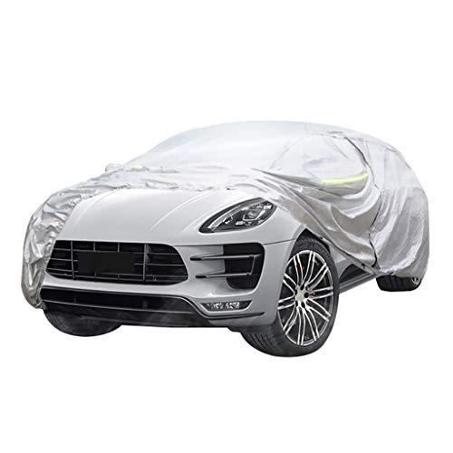 Autoabdeckung Kompatibel mit Buick Verano, Sonnenschutz, Regen Schutz, Wärmedämmung, Oxford Tuchoberfläche, Versilberung, Verdickungs- und Samt Heizung.Privater Brauch