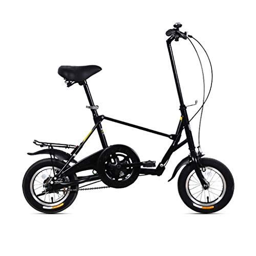 Find Discount AIAIⓇ Folding Bicycle Mini Student Adult Men and Women Work Bicycle 35cm Small Wheel...