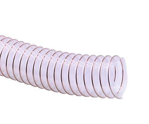 METERWARE - Leichte Saug-Druck PU-Spiralschläuche Druckschlauch Vakuumschlauch Spiralschlauch (Schlauch Ø innen: 150 mm)