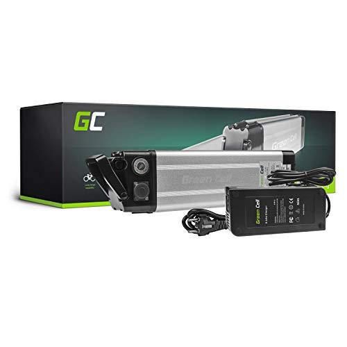 GC® Batteria per Bicicletta Elettrica 24V 8.8Ah Silverfish E-Bike Li-Ion Batteria + Caricabatterie