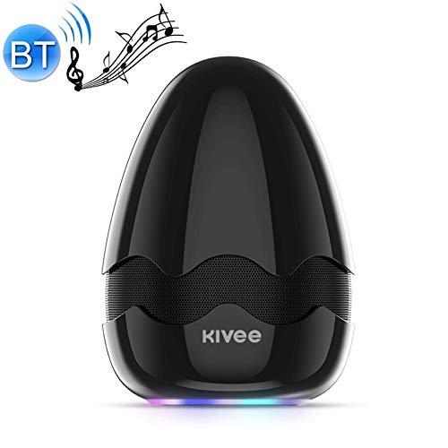 Bluetooth Lautsprecher Unterstützungs-TF & FM & Voice Call (Schwarz) Asun, KV-MW01 Tonfarbe Enthaltsam Bluetooth Lautsprecher (Color : Black)