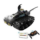 Sungvool Juego de construcción de Batmobile de bloques de construcción de BatMobile, juego de juguetes RC para adultos, coleccionistas de coches para adultos, compatible con Lego Batman (422 piezas)