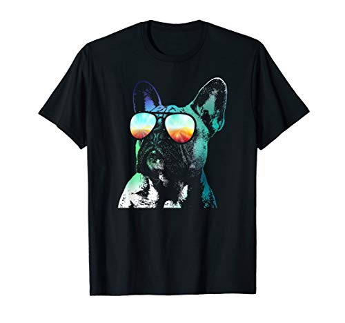 French Bulldog Neon Dog Shirt