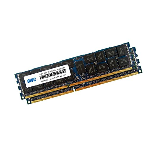 OWC 32GB (2X 16GB) 1866MHz PC3-14900 DDR3 ECC-R SDRAM Memory Upgrade Kit, ECC Registered, (OWC1866D3R9M32), for Mac Pro 2013
