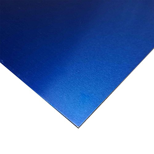 Online Metal Supply Blue Anodized Aluminum Sheet .032
