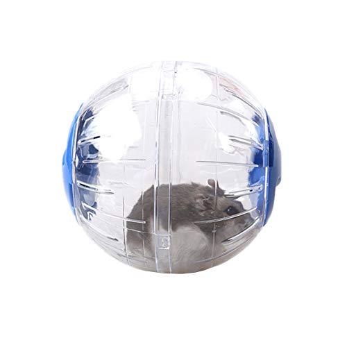 PPING laufrad für Hamster hamsterrad Hamster Rad stille Spinner Holz Hamster Rad Hamster übung Ball Große Hamster Ball Zwerg Hamster Rad Hamster Blue