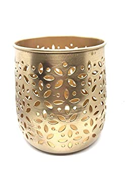 CMEI Brass Candle Holder for Candle Burning Decoration Wicca Altars Gift Item Display Center Piece Display