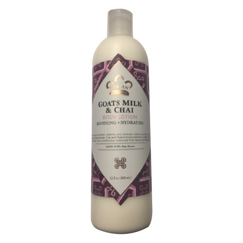 Nubian Heritage Lotion, Goats Milk and Chai, 13 Ounce by Nubian Heritage