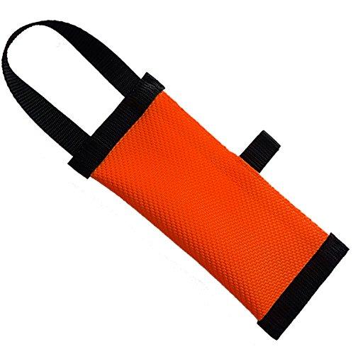 Dog24 Hunde-Futterdummy/Trainingsdummy/Feuerwehrschlauch/Apportier-Training/Futterbeutel/Leckerlie-Beutel/Apportier-Spielzeug/schwimmfähig/Preydummy/Snack Dummy (M (20cm))